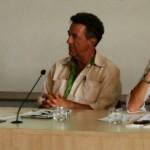 Yves Cochet, eurodéputé EELV qui a présenté un rapport sur les subventions aux énergies fossiles dans les pays de l'OCDE le 5 juin au Parlement européen, a animé le forum.