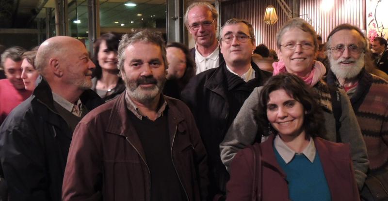 Meeting EELV Toulouse 08-04-14 élu-es et militant-es EELV Ariège