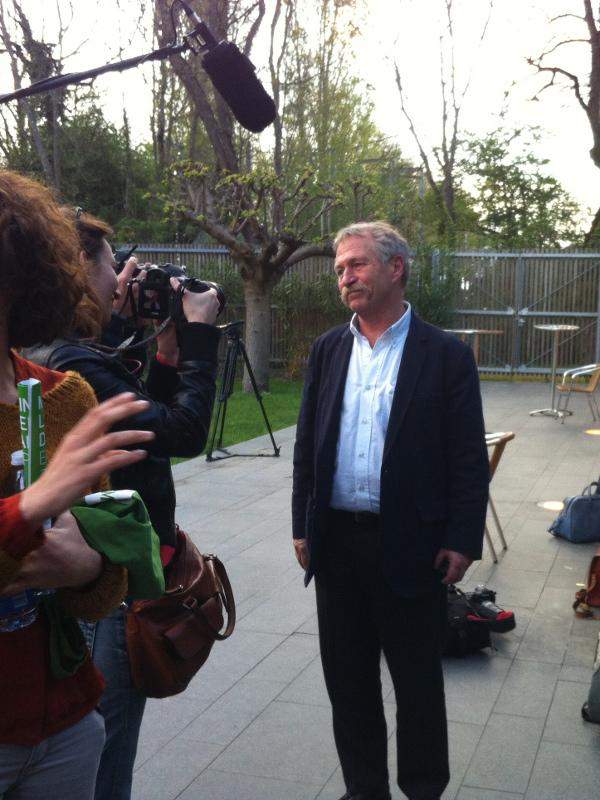 Meeting EELV Toulouse 08-04-14 : José Bové, tête de liste